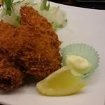 廻鮮寿司 かねき  - 牡蠣フライ