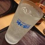 廻鮮寿司 かねき  - レモンハイにチェンジ