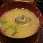 廻鮮寿司 かねき  - 浅利汁