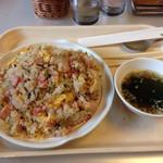 レストラン 凰花園 - 料理写真:海老チャーハン