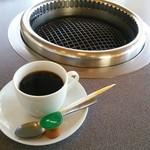 登正門 - 2014.11ランチのコーヒー