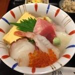 32455366 - 鈴徳 特選チラシ鮨アップ