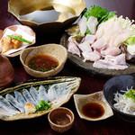 銀平 匠 - 料理写真:てっちりコース