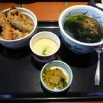和食さと - ミニ天丼セット