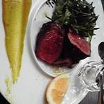 イタリアーナ レガラーレ - メインの牛肉。