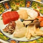 都寿司 - お造り盛り合わせ