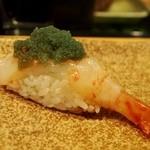都寿司 - ボタン海老