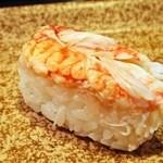 都寿司 - 毛蟹