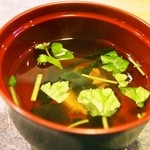 都寿司 - お吸い物