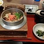 32463273 - プラス500円で穴子釜飯