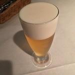 レストラン・アダージョ - やっぱビールです。