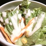 32464543 - <'14/11/05撮影>ラム焼肉定食 972円 のサラダ
