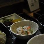 維新亭 - 定食の酢の物