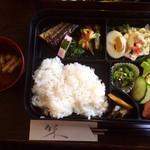 コーヒーカクタス - 料理写真:ランチ日替り弁当¥500(税込)