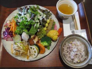 ジャストカフェ - お野菜たっぷりランチプレート