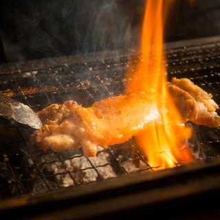 【炉端焼】新鮮素材を炭火でじっくり焼き上げます