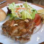 ビアンカ - 若鶏のガーリックハーブ焼きランチ