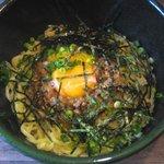 麺屋かまし - 「かまし麺こめたまセット」800円のかまし麺