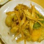 和食れすとらん 天狗 - たこと野菜のフリッター