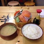タカマル鮮魚店  3号館 - これで980円というのが驚き。