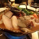 ディキシールー - メリケーヌ海鮮鍋;スープは軽めです @2014/11/07