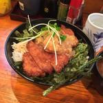 明治亭 - おろしかつ丼 500円