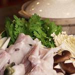 旬彩小料理 満まる - てっちり鍋