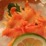 酒饌もり澤 - 赤貝の刺身