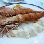 レストラン ミネルバ - 料理写真:大海老フライ(日替ランチ)