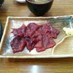 鯨食堂 - 【2014/11】鯨刺身