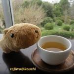 眺めのいいカフェ パ・ノ・ラ・マ - 無料のお茶