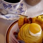ビベール - 料理写真:ケーキセット