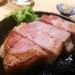 ぼっか - 近江豚ベーコンステーキ(ハーフ)