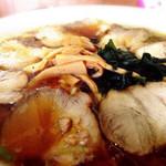 あづまや - チャーシュー麺