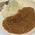cafe  ココペリ - 料理写真:バルメニュー♩「キーマカレー」