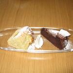 トレセミ - ケーキは甘ま過ぎず何個でも食べられそう