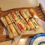 茶房 いなだ - サンドイッチ(トーストver.)