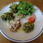 ルナ ピエナ - 前菜の盛り合わせ