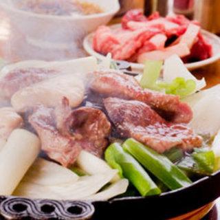 ススキノ名物!創業から変わらぬ特性タレで味わう生マトン!
