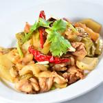 豚肉と高菜の炒め物