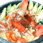 海老のサワースープ