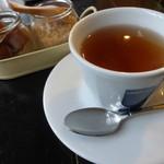 cafe Brasserie Remi - Aセット(ソーセージとキャベツのクリームパスタ)