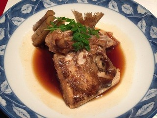 京料理 春神 - 鯛あら煮