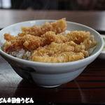 天治 - 料理写真:天丼