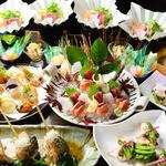うるる - 『紅葉コース』料理10品 3,500円(飲み放題付 5,000円)