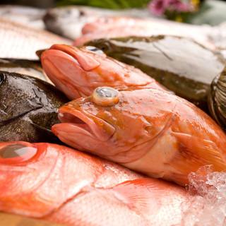 産地直送!!新鮮な魚介類