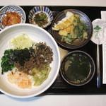 牙山 - ピビンバ定食