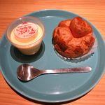 nanairo - 料理写真:ぷりんとカスタードシュー