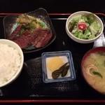 32519277 - 牛タン定食(他コーヒー付)1030円