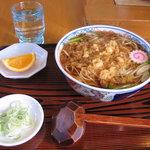 宝盛庵 - 料理写真:たぬきそば
